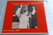 Rare R & B Soul Jazz Mini LP 45: Sonny HInes In Person ~ If I Had You on Terry