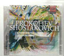PROKOFIEV - SHOSTAKOVICH VIOLIN CONCERTOS 2 CD