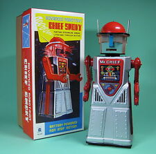 Bonito robot Chief Smoky Robotman battery operated re edition ***