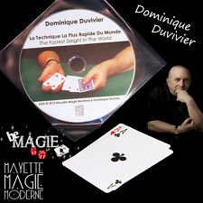 DUVIVIER - Technique la plus rapide du monde + DVD  - Magie - Bicycle