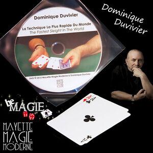DUVIVIER - Technique la plus rapide du monde + DVD  - Magie - Bicycle