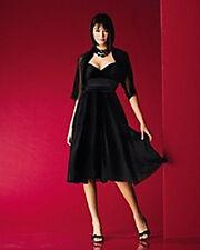 Sutton Studio Ruched  Silk Georgette Dress Sz 4 Black