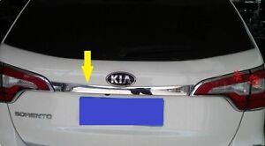 Chrome Rear Tailgate Trunk  Strip molding Lid Trim For Kia Sorento 2013 2014