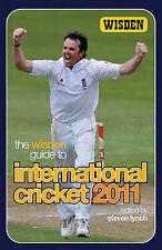 The Wisden Guide to International Cricket 2011, Lynch, Steven | Paperback Book |