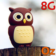 Owl USB Stick, 8GB Quality USB Flash Drives weirdland