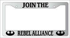 Chrome License Plate Frame Join The Rebel Alliance Auto Accessory Novelty 78