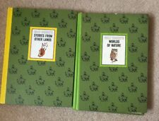 Vintage 1965 Lot of 2 Walt Disney's World of Nature Stories from Other Land Book