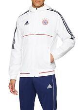 Adidas FC Bayern München Veste de Présentation Blanc M