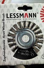 AUTO BODY WELDERS QTY 1  ABRASIVES LESSMAN 322.171.US CRIMPED WHEEL BRUSH GERMAN