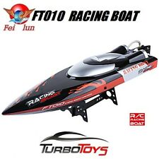 NEW- RC 2.4GHZ FT010 HIGH SPEED RACING BOAT 35KM/H - 65CM - 14.8V LIPO HOBBY RTR