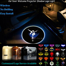 2x Wireless Michael Jackson Logo Car Door Projector Ghost Shadow CREE LED Light