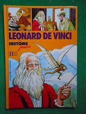 LEONARD DE VINCI ILL EDUARDO T COELHO TEXTE JM LE GUEVELLOU HISTOIRE JUNIORS