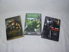 3 DVD Lot Movies The League of Extraordinary Gentlemen, The Hulk, The Punisher