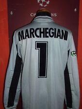 MARCHEGIANI LAZIO 1999/00 MATCH WORN MAGLIA SHIRT CALCIO FOOTBALL MAILLOT JERSEY
