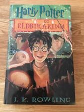 1ST ED J K ROWLING HARRY POTTER AND THE GOBLET OF FIRE ICELANDIC BJARTUR RARE
