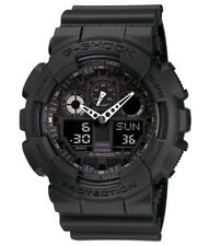 Casio GA100-1A1 Men's Black Alarm Chrono Analog Digital X Large G Shock Watch