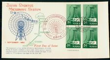 Mayfairstamps Ryukyus FDC 1964 Microwave System Block First Day Cover wwh_33589