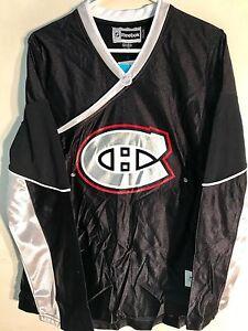 Reebok Women's NHL Fashion Montreal Canadiens Team Black sz S