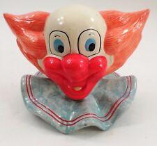 1985 Enesco Larry Harmon Pictures Bozo the Clown Ceramic Still Coin Piggy Bank