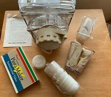 NIB POPEIL P400 Automatic Pasta Maker Machine Food Preparer 12 Dies RONCO NEW