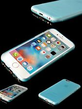 Funda de silicona ultra-delgado teléfono caso Azul Apple iPhone 6 cybercase Original