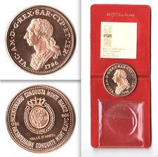 MEDAGLIA BICENTENARIO CONQUISTA MONTE BIANCO 1786-1986 - MEZZO SCUDO AMEDEO III