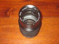 Vivitar 75-205mm f/3.8 MC Macro Focusing Zoom Lens Nikon AI Mount