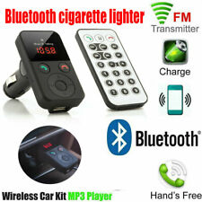 Car Bluetooth Fm Transmitter Wireless Radio Mp3 Player Adapter Kit Usb Charger