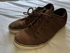 K Swiss mens size 10 comfort brown suede shoes