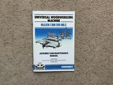 Coronet Major Lathe &woodworking Machine Manual Mk3 Version Others Similar