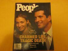 People Magazine Charmed Life, Tragic Death  August 2, 1999