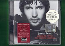 JAMES BLUNT - CHASING TIME THE BEDLAN SESSIONS DVD+BONUS CD NUOVO SIGILLATO