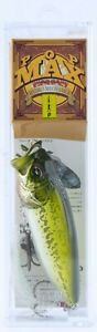 Megabass PopMax Topwater Popper Fishing Lure GG Bass With Plastic Case Pop Max