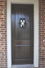 """Knotty Alder Cottage Entry Knotty Alder 36""""x96"""""""