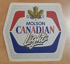 Details about  /4 diff Molson SUB ZERO beer coasters  Canada