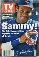 TV Guide Sept 1998 Magazine Chicago Cubs Sammy Sosa Collector Cover NoML VG