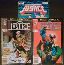 Justice Lot of 3 Copper Age Comic Books