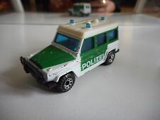 Matchbox Mercedes 280 GE Polizei in Green/White