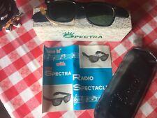 Rari Occhiali Radio SPECTRA vintage Space Age Tipo rayban Persol Lozza