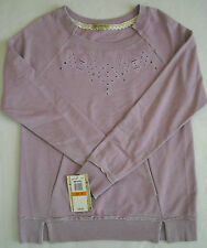 """"""" DEMOCRACY ' ADORABLE WOMENS TOP SIZE SMALL DISTRESSED LOOK PALE PURPLE"""