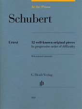 Henle Urtext Schubert: At the Piano 12 Well-Known Original Pieces