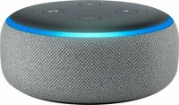 NEW Amazon Echo Dot 3rd Generation Smart Speaker with Alexa- Heather Gray