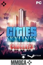 Cities Skylines - Concerts - STEAM Download Code CS DLC Addon PC Spiel Key DE EU