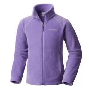 Columbia Jacket Toddler Girls Authentic Benton Springs Fleece Full Zip Purple