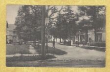 CT Milford FORT TRUMBULL BEA 1916 postcard CHERRY ST HOMES CONN TO BRISTOL