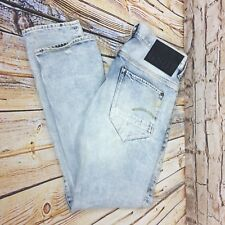 Mens G Star New Radar Slim Jeans - Stonewashed - Skinny - Sz 33 x 33
