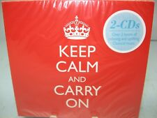 KEEP CALM AND CARRY ON, various artists, 2CDs, Somerset NEW