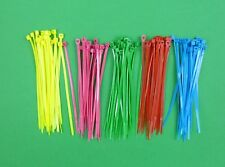 150 (5 x 30) multi coloured cable ties for 1:10 RC use -suit Tamiya Traxxas HPI
