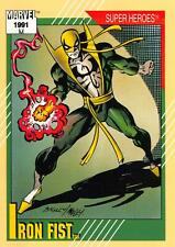 IRON FIST / Marvel Universe Series 2 (Impel 1991) BASE Trading Card #28