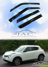 For Nissan Juke 11-17 Window Visor Vent Sun Shade Rain Guard Door Visor